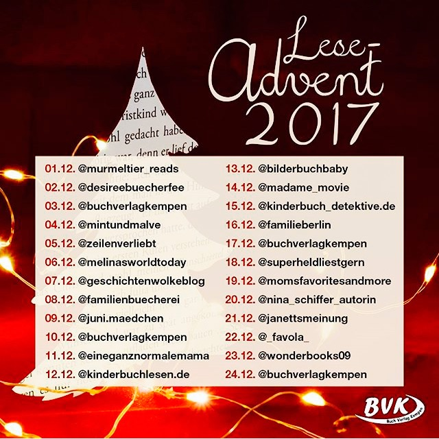 Adventskalender Kinderbuch